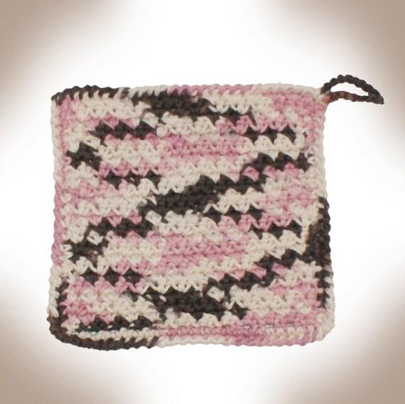 PIF - Nitty Gritty Washcloth Crochet Pattern