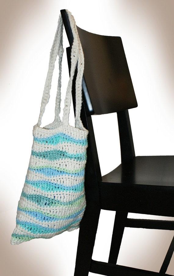 PIF - Ocean Waves Lunch Bag Crochet Pattern