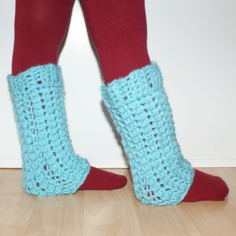 Little Girl Leg Warmers Crochet Pattern
