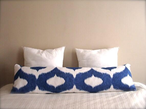 Bolster Pillows - Body Pillows - Large - Ikat Prints, Vibrant Colors or Custom Pillow