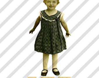 Digital Collage Sheet Children ATC 11 (Sheet no. A11) Instant Download