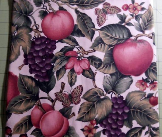 FRUITS And BUTTERFLIES MICROWAVE Potato Bag