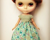 Beautiful and Romantic Blythe Crocheted Dress
