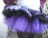 Purple Satin Micro Tutu