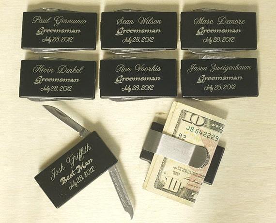 Personalized Metal Money Clip,Laser Engraved Money Clip,Multitool Gift,Groomsmen Gift,Best Man Gift,GFT-025