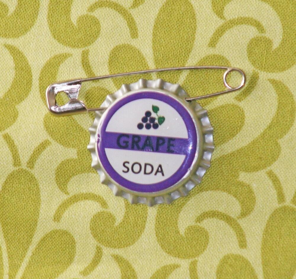 Grape Soda Bottlecap Button INSPIRED BY DISNEY UP