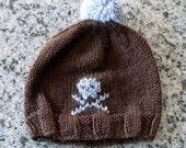 Skull and Crossbones Infant Hat