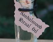"Sandalwood ""Alchemist Tree"" Ritual Oil . For Protection, Healing, Spirituality, Healing, Banishing and Wishes"