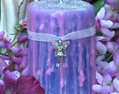 Queen of the Faeries . Witches Magick Candle . 2x3 Pillar