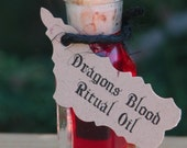 Dragons Blood Alchemist Tree Ritual Spell Oil . Pure Dragons Blood Resin Infused Oil