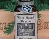 Prosperity Ritual Natural Perfume Oil - White Magick Alchemy . Abundance, Business, Success, Attraction