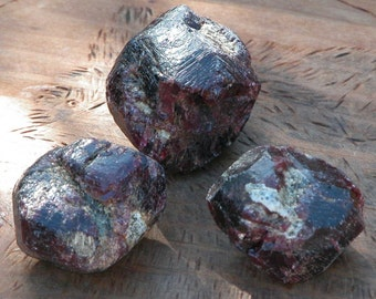 Natural Raw Almandine Garnet Gemstone Med/Large . For Love, Protection, Healing, Success, Faerie Worings