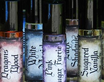 Pink Sugar Faerie . White Magick Alchemy Perfume Oil