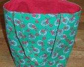 Tote Bag- Christmas Wreaths- Gift Bag- Christmas Bag- Eco Friendly