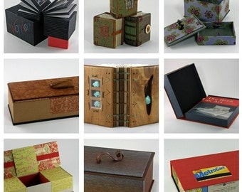 Custom Journals, Memory Books, and Boxes