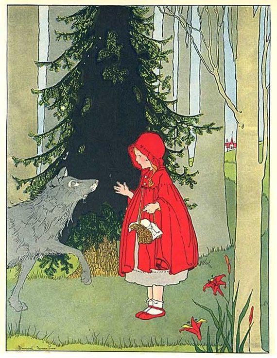 Fairy Tales Red Riding Hood