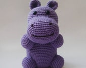 Natural  Purple Hippopotamus