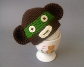 Monkey Egg Hat - Egg warmer - Egg Cozy