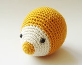 mustard plush hedgehoge - sabahnur