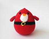 Santa  Bird christmas Stocking Stuffers Hostess Gift.