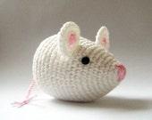 white little mouse