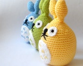 easter totoro rabbit sprit of the forest