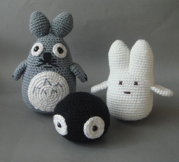 Crochet  Totoro Gang