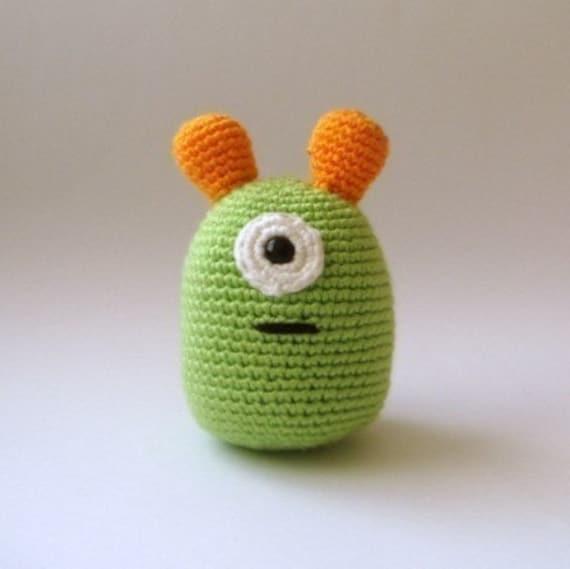 nursery  toy plush  alien amigurumi