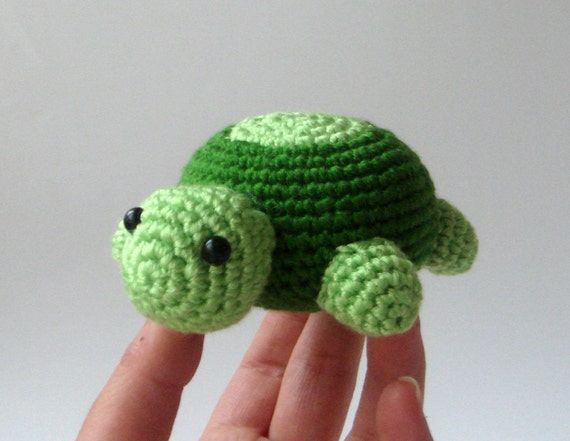 baby toddler toy Crochet  turtle