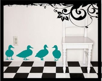 Duck Silhouettes - Vinyl Decal