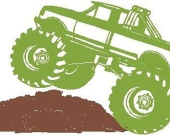 Monster Truck - Vinyl Decal