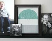 Custom Family Tree with Love Birds
