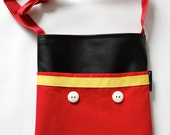 Mickey Mouse inspired Bag-autograph book bag