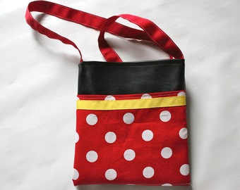 Minnie Mouse inspired Bag-autograph book bag
