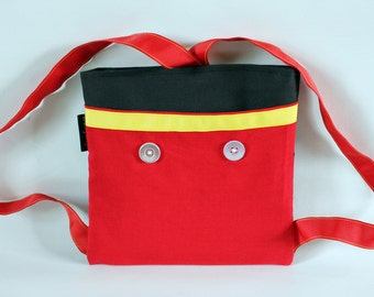 Mickey Mouse inspired Backpack-autograph book bag