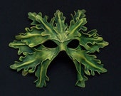 White Oak Leaf Greenman Mask