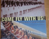 Stewardess Airline Hostess Paper Ephemera Collage Book -New