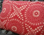 Ruby  Red Indoor/Outdoor pillow