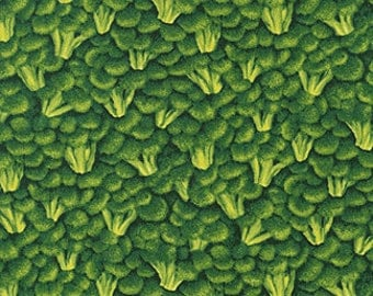 Broccolli Farmers Market RJR fabric 1/2 yard