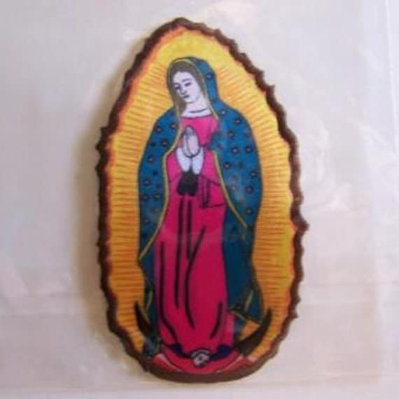 Our Lady of Guadalupe Iron-on Patch