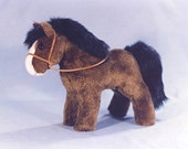 PDF Pony Donkey or Unicorn SEWING PATTERN Stuffed Animal Toy Plushie Bear Friend