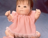Baby Doll SEWING PATTERN 12 inch DAWN Jointed Girl with Clothes