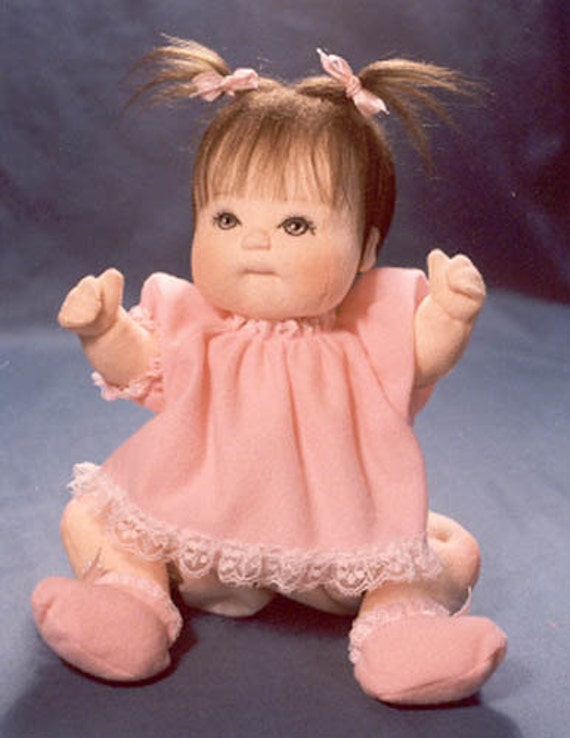Items Similar To Baby Doll Sewing Pattern 12 Inch Dawn