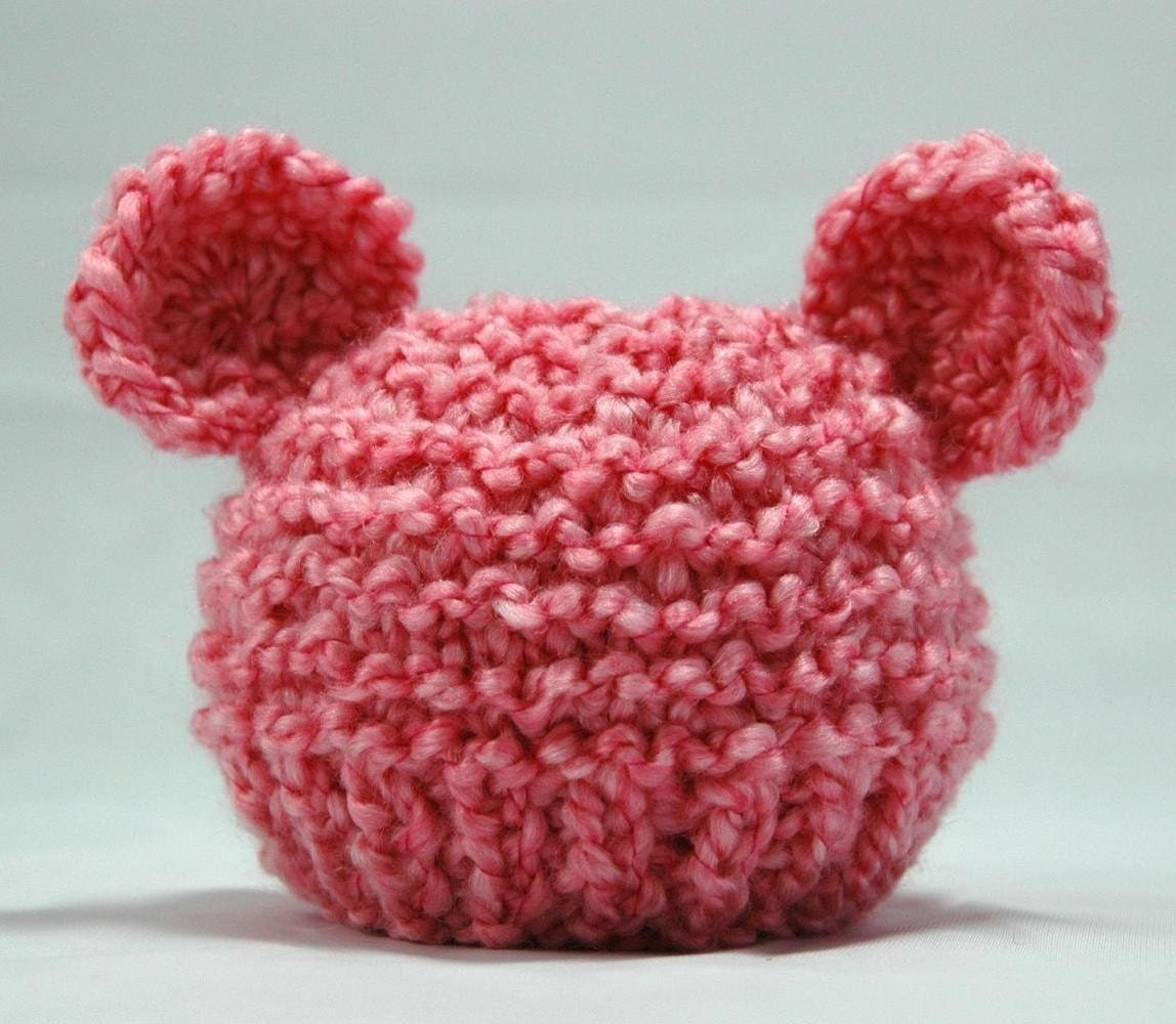 KNITTING PATTERN Baby Bear Hat PDF