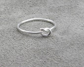 Silver Knot Ring - Lets Tie The Knot - SALE was 28.00