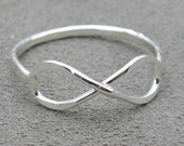 Infinity Ring - Sterling Silver Ring