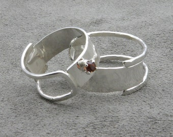 Silver Wedding Set - Together As One