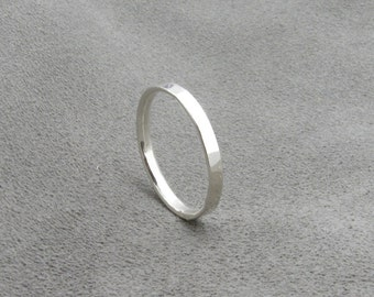 Silver Ring - Comfort Fit Band