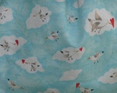 Hearts and Love Seagull Bird Pouch Bag