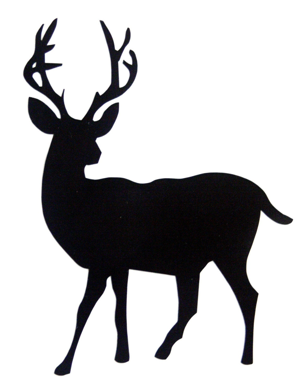 Chalkboard Stickers For Wall Deer Chalkboard Sticker